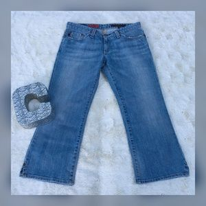 AG Adriano Goldschmied The Saga Crop Jeans